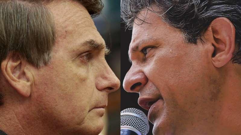 Jair Bolsonaro e Fernando Haddad disputarão a Presidência no 2º turno