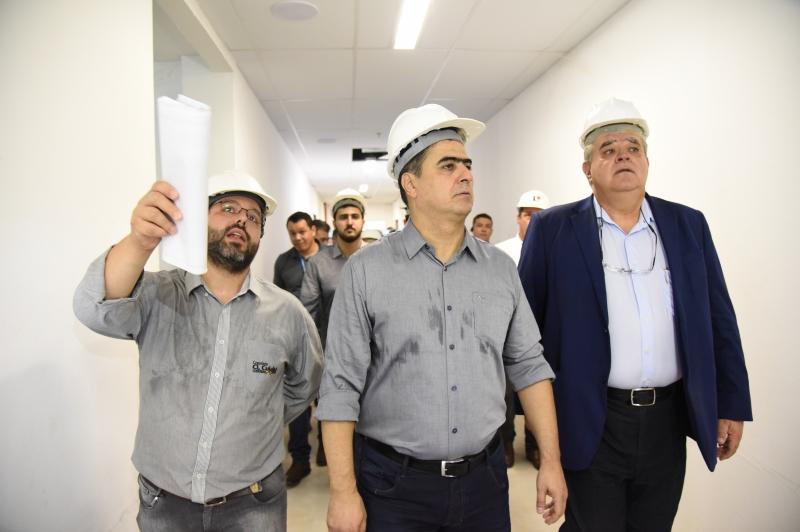 Pinheiro e presidente Temer entregam o Hospital Municipal de Cuiabá - HMC - dia 28