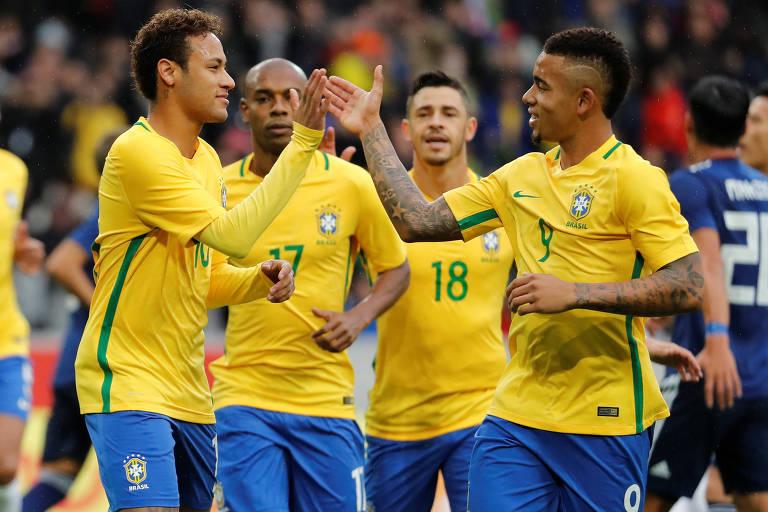 Seleção brasileira já está em São Paulo para estreia na Copa América