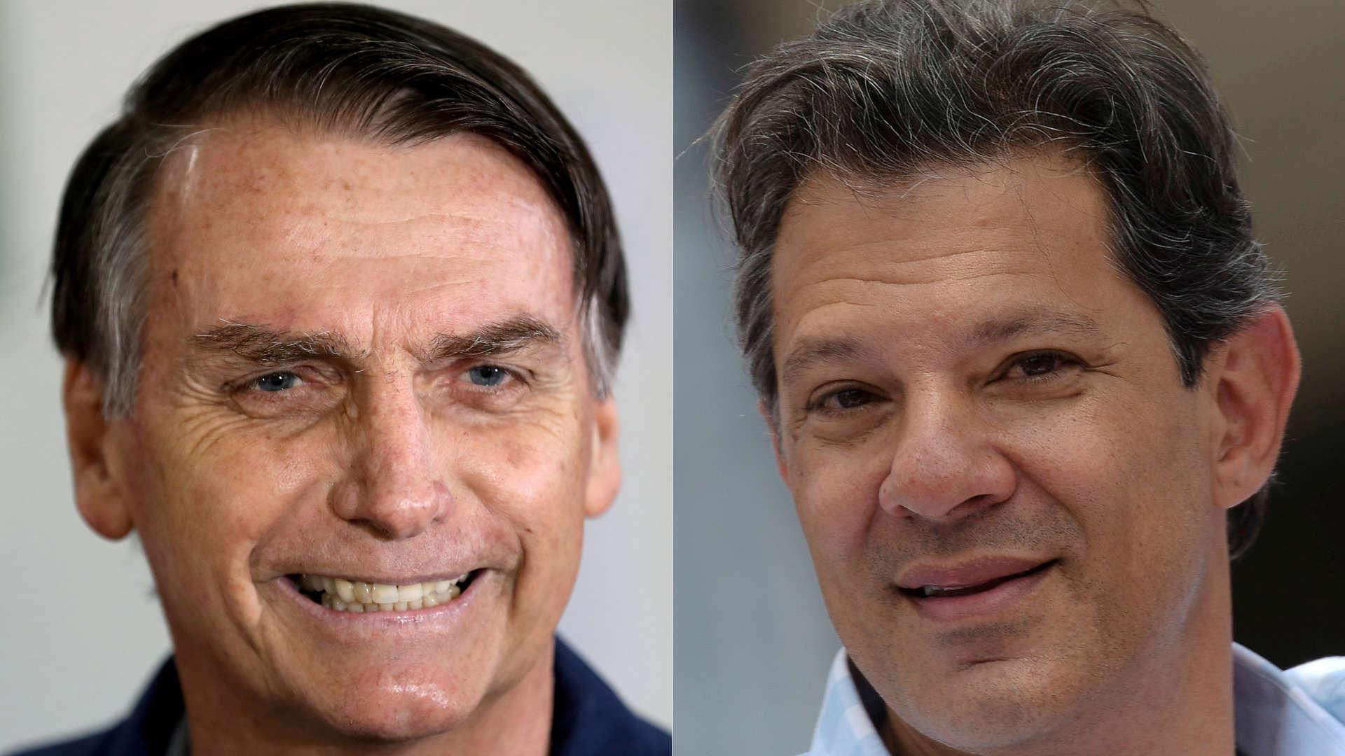 Veja os principais nomes das campanhas de Bolsonaro e Haddad