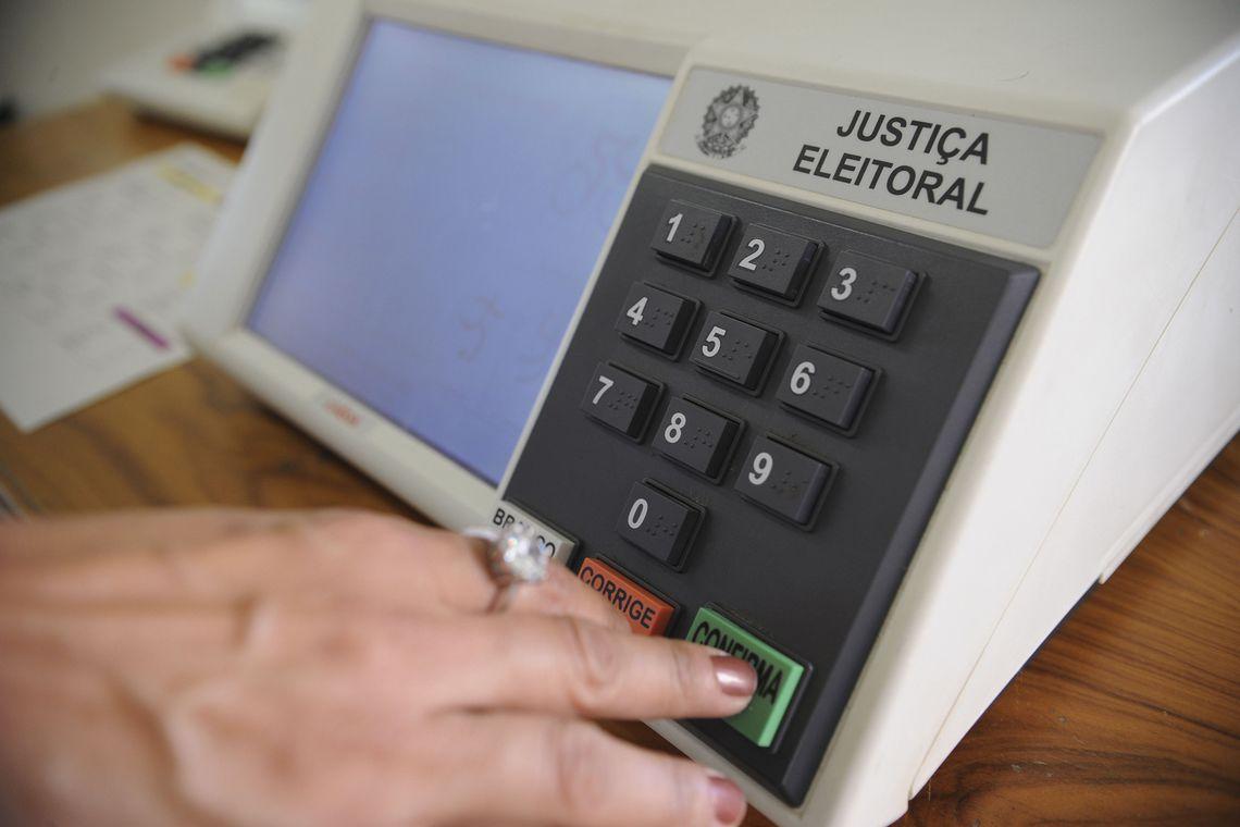 Confira qual é a ordem de votação na urna eletrônica