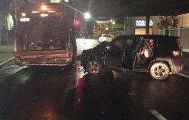 Mulher embriagada atropela gari em Cuiabá