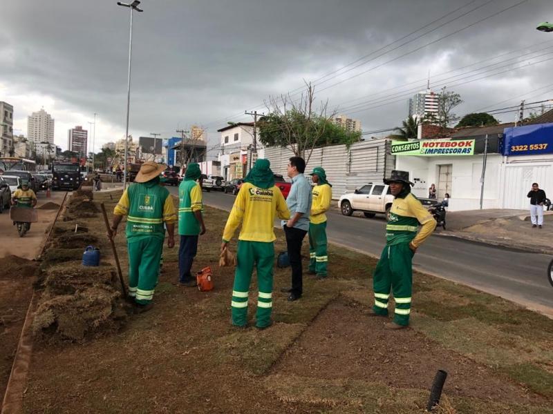 Cuiabá: Mato Grosso a avenida dos Ipês está na reta final