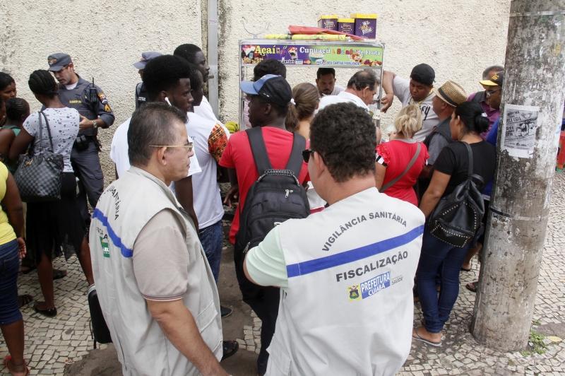 Reordenamento do comércio no centro histórico de Cuiabá