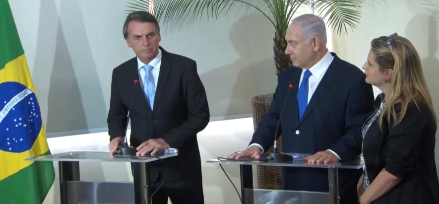 'Israel é a Terra Prometida, e o Brasil é a terra da promessa', diz Netanyahu em encontro com Bolsonaro