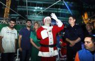 Magia do Natal segue na Praça Alencastro até o próximo dia 23