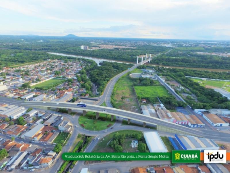 Construção de novos viadutos em Cuiabá. Prefeitura publica edital de licitação.