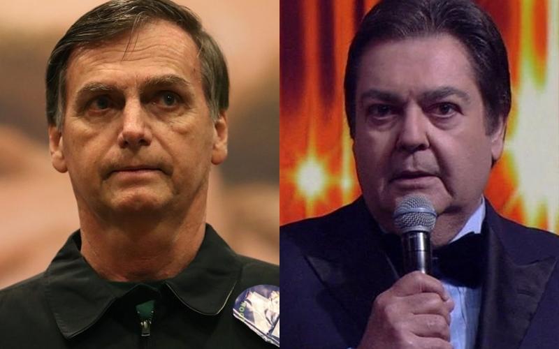 Troféu Domingão é oferecido a Bolsonaro e afronta atores da Globo