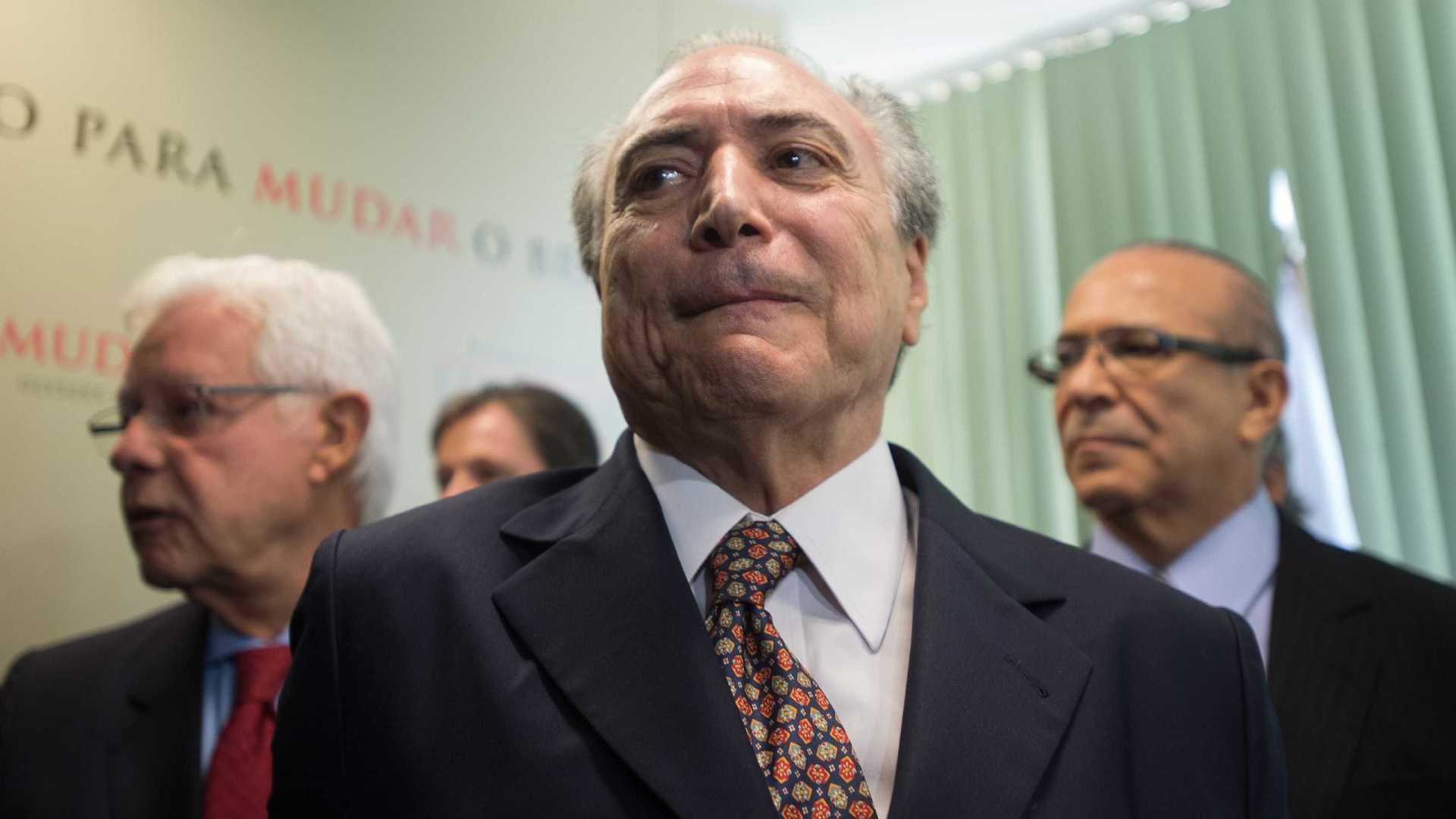 Dodge ao STF: Temer, Moreira Franco e Padilha praticaram corrupção