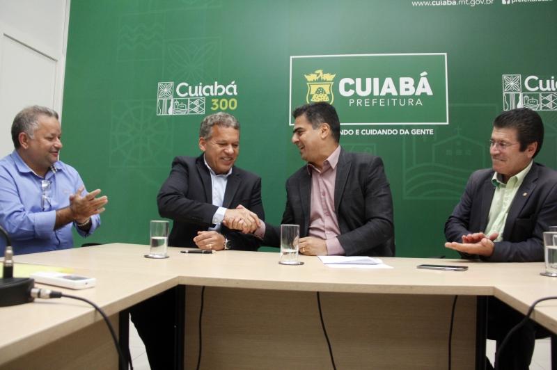 Cuiabá: Pinheiro conquista recurso de mais 5 milhões para asfalto