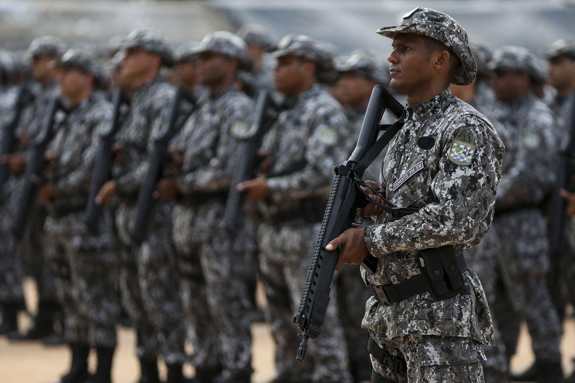 Forças federais seguem para o Ceará e começam a atuar amanhã