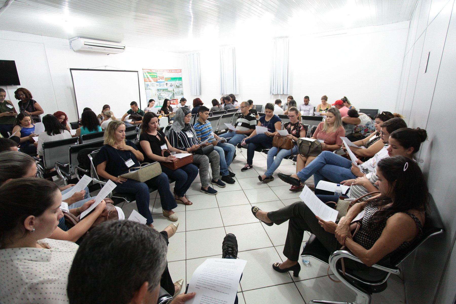 Várzea Grande : Servidores da Saúde são capacitados no reforço da política de humanização