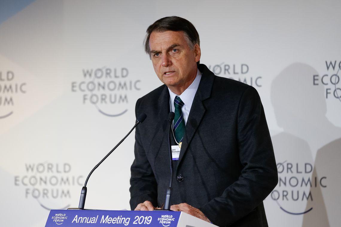 Tudo o que falamos em Davos temos condições de fazer, diz Bolsonaro