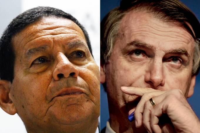 Mourão assumirá Presidência por 48 horas após cirurgia de Bolsonaro