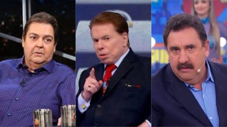 Faustão, Silvio Santos e outros famosos entram em guerra política, sofrem duras consequências e pagam o preço