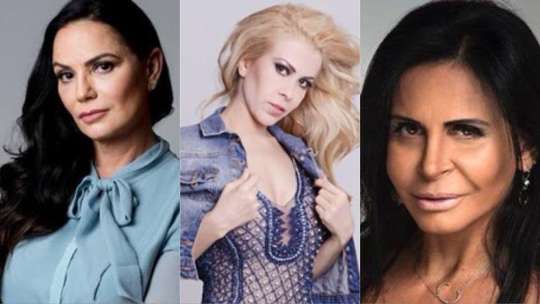 Luiza Brunet, Joelma e Gretchen: Violência doméstica atinge famosas