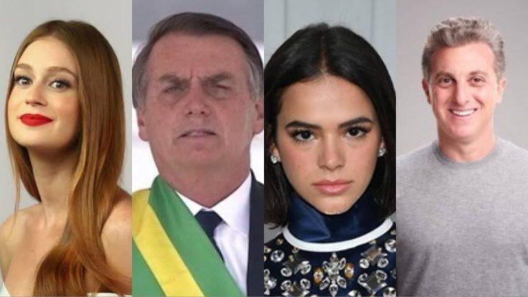 Brigas, provocações e ironias entre famosos marcam a primeira semana de Bolsonaro no governo