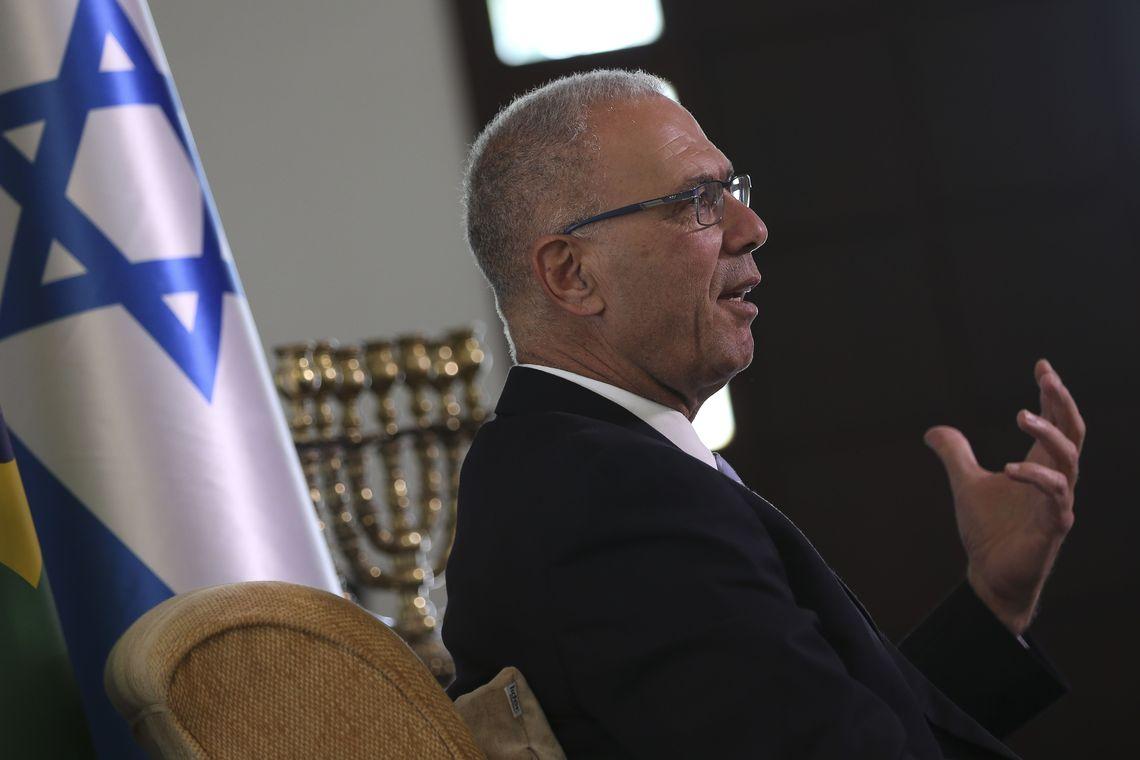 """""""Bolsonaro é o segundo Oswaldo Aranha"""", afirma embaixador de Israel"""