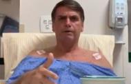Do hospital, Bolsonaro cobra PF e pede uma solução sobre ataque a faca em Juiz de Fora