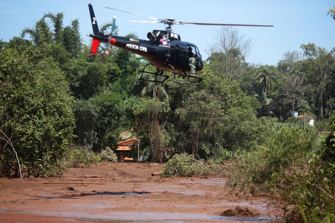 PM de Minas prende seis pessoas em Brumadinho