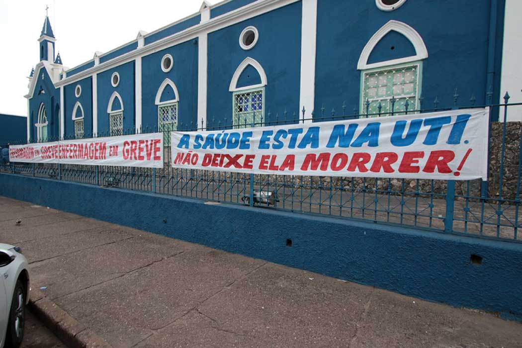 Santa Casa de Cuiabá. Prefeitura divulga nota esclarecendo situação financeira da entidade.