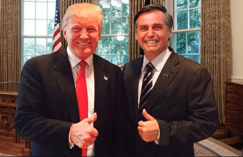 Trump receberá Bolsonaro na Casa Branca na segunda quinzena de março