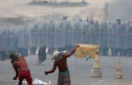Brasil monta barreira em Pacaraima após conflito entre civis e militares venezuelanos