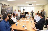 Emanuel recebe parlamentares no HMC