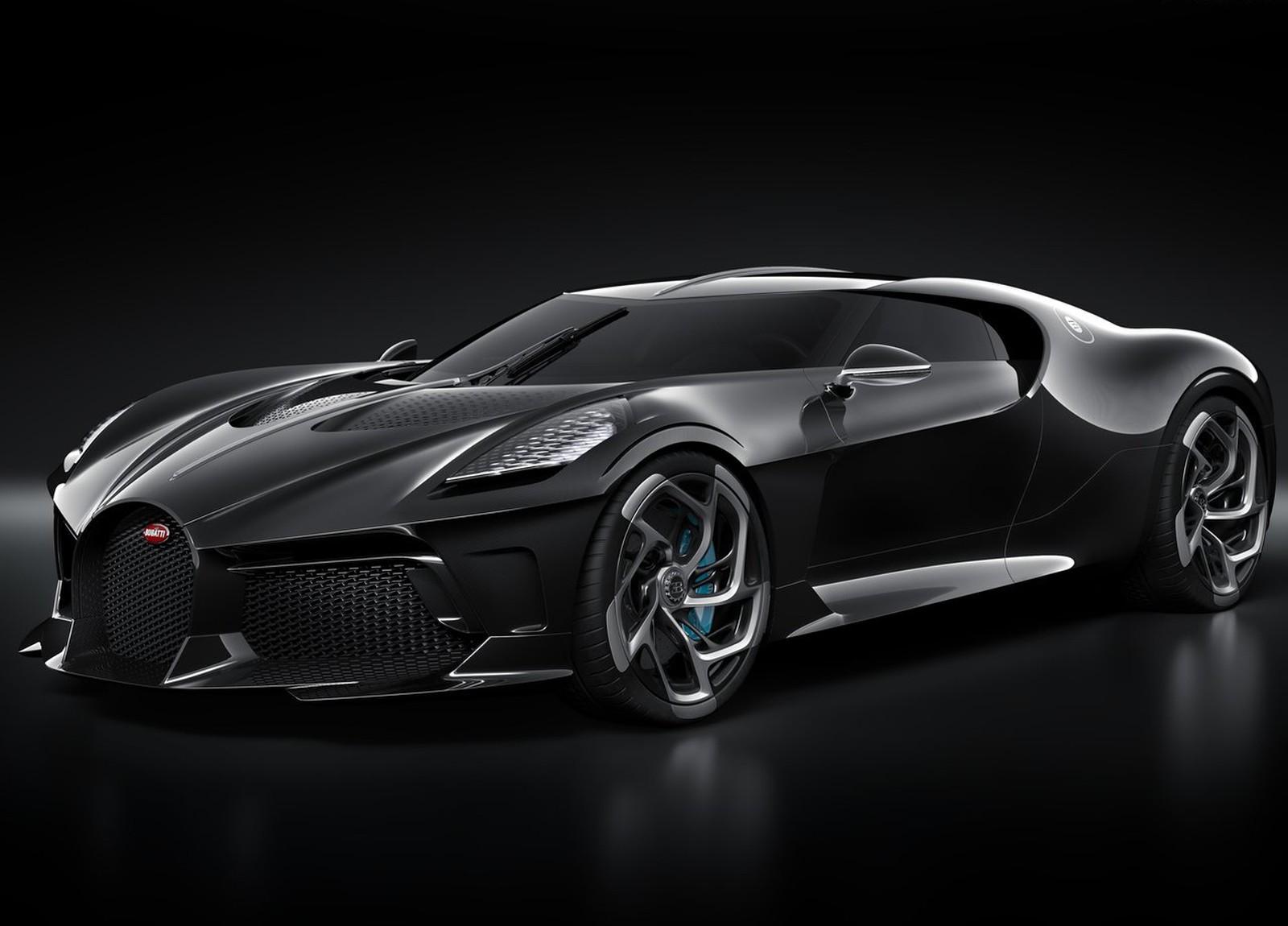 Bugatti La Voiture Noire, de R$ 47 milhões, é o carro novo mais caro de todos os tempos