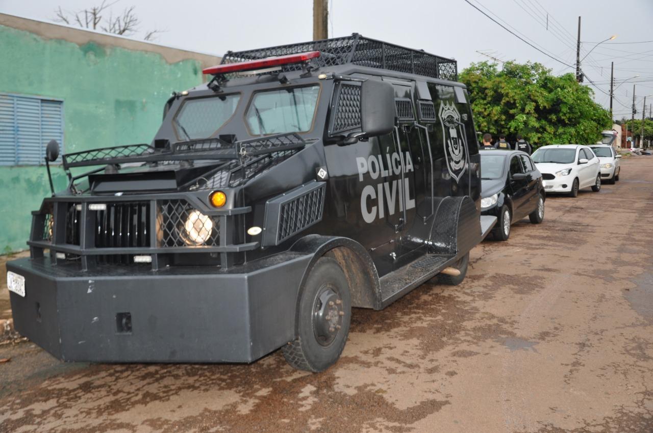 Operação da Polícia Civil desmonta célula de facção criminosa em Campo Verde