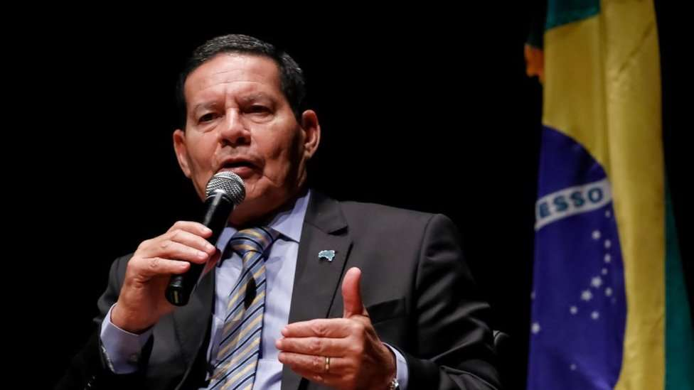 Ao defender reforma da Previdência, general Mourão diz que 'População também tem obrigações, não só direitos'