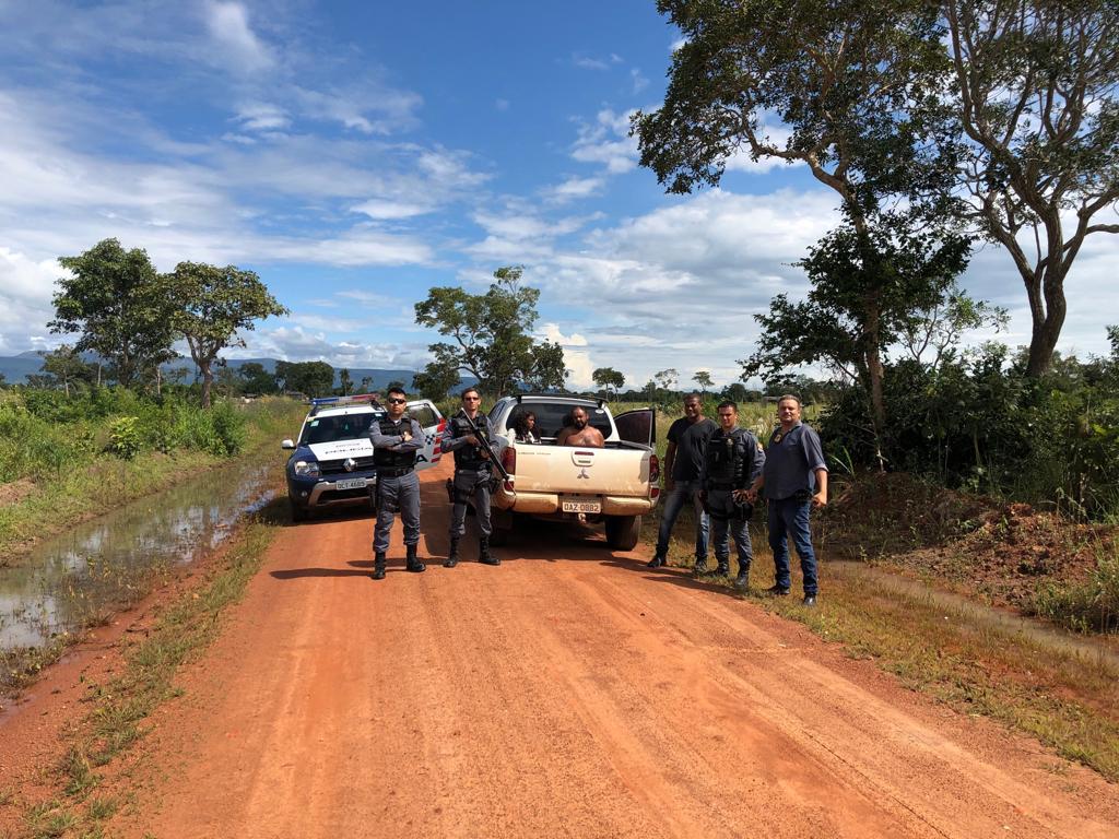 Casal é preso por matar taxista a facadas em Vila Bela da St. Trindade