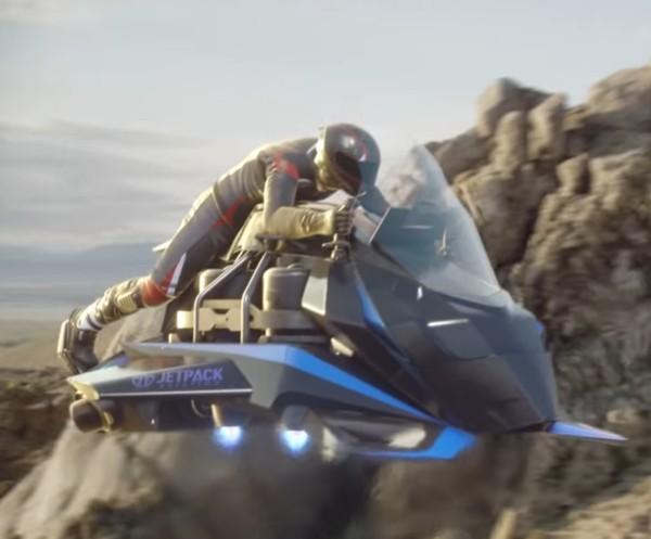 Moto voadora começa a ser vendida por US$ 380 mil antes mesmo de ficar pronta