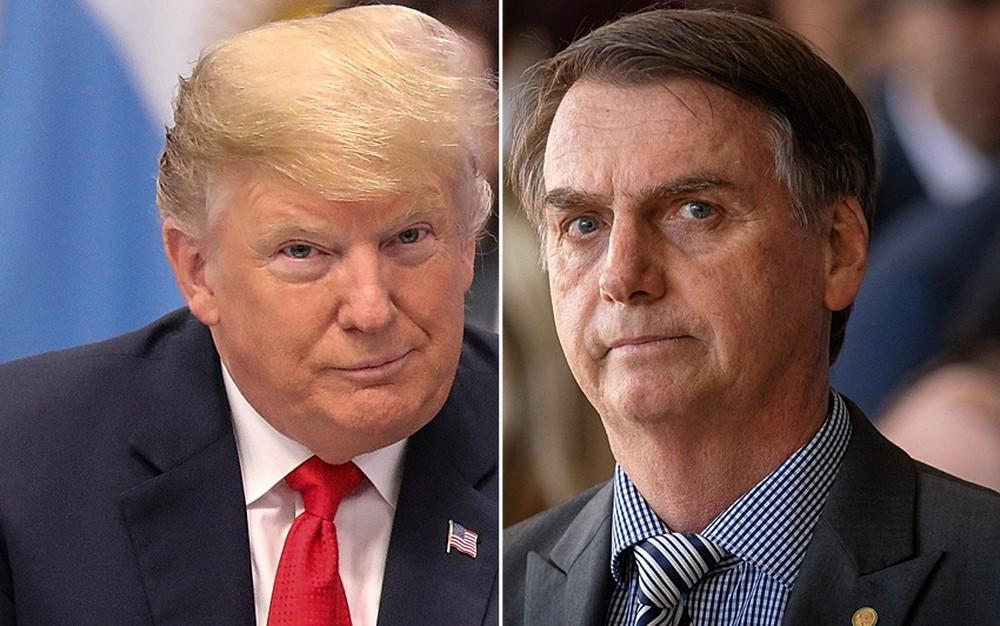 Bolsonaro será recebido por Trump em 19 de março, anuncia Casa Branca