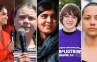 5 adolescentes que estão tentando mudar o mundo