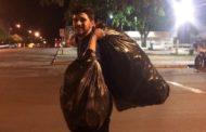 Estudante de MS que catou latinhas consegue comprar notebook para escrever TCC: 'Estou muito feliz'