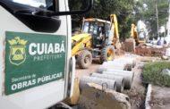 Obra de reconstrução de drenagem da Av. Pau Brasil é iniciada