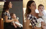 Isis Valverde diz que sentiu cobranças ao se tornar mãe