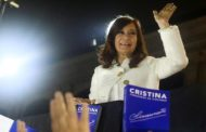 Cristina Kirchner será candidata a vice-presidenta na Argentina