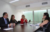 Márcia Pinheiro foi à Brasilia buscar apoio do Governo Federal para projetos sociais