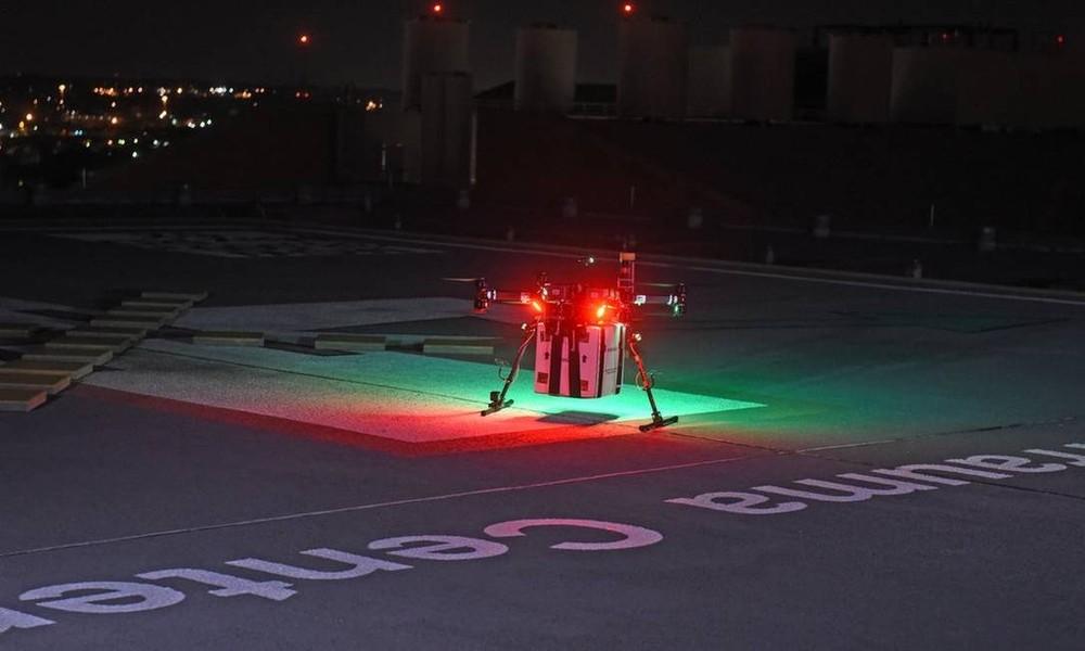 Hospital americano usa drone para transportar órgão para transplante