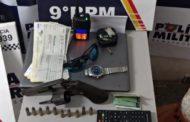 PM desarticula quadrilha responsável por vários roubos em Cuiabá