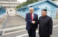 Trump cruza a fronteira e se torna 1º presidente dos EUA a entrar na Coreia do Norte
