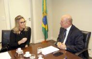 Márcia Pinheiro deve viabilizar em Brasilia recursos para eventos com crianças na 1ª infância