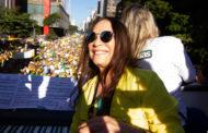 Em SP, manifestantes defendem Moro com Latino e Regina Duarte