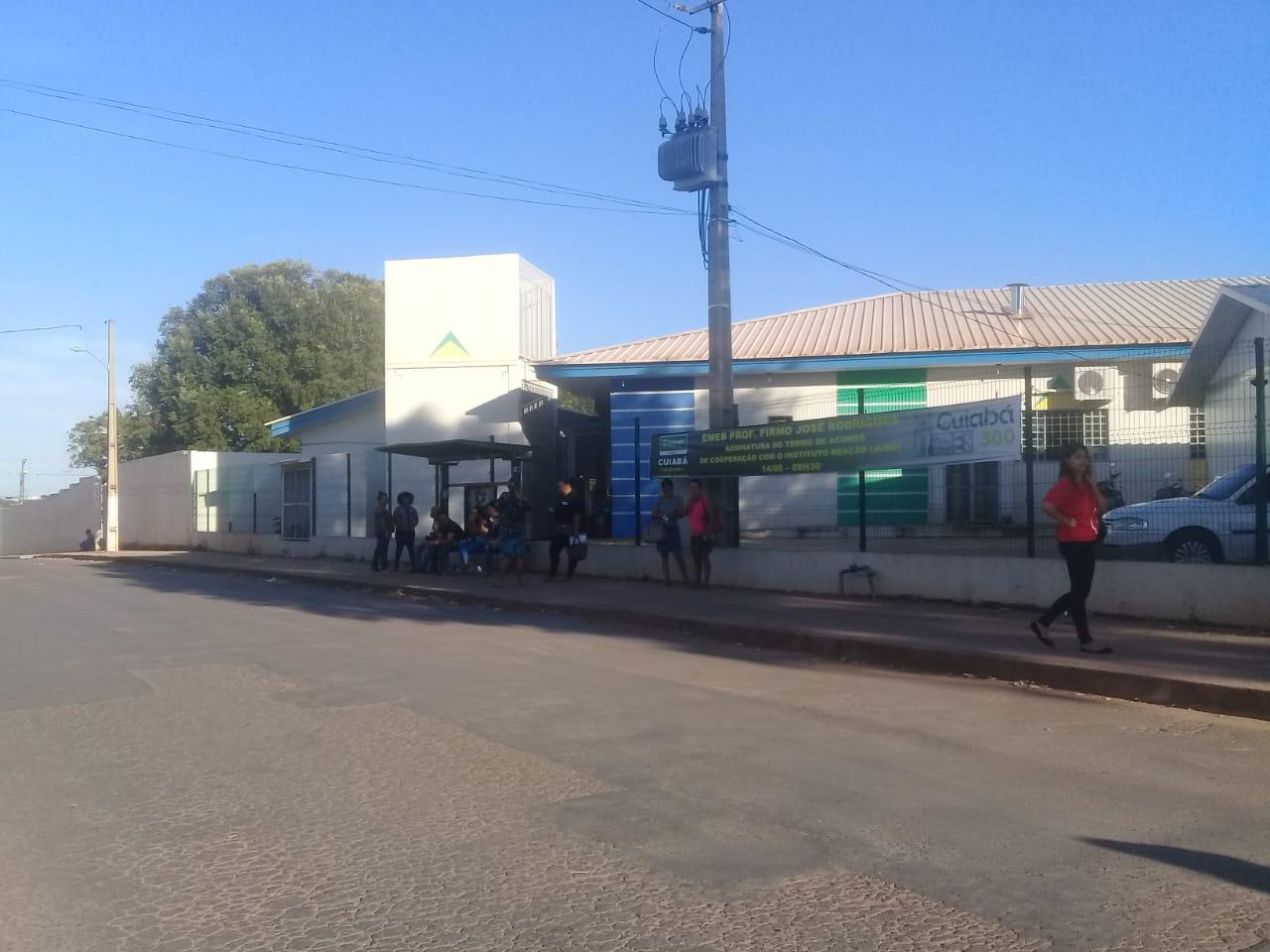 100% do transporte coletivo param as atividades em Cuiabá e Várzea Grande