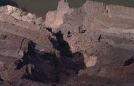 Em 15 dias, movimentação do talude de mina da Vale em Barão de Cocais passou de seis para 33 centímetros