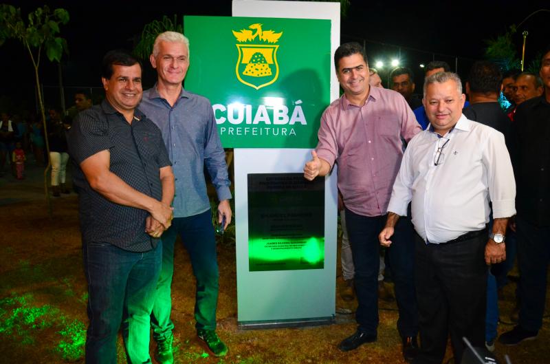 Cuiabá: Bairro Três Barras ganha moderno espaço de lazer