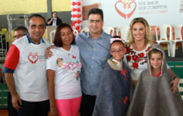 Márcia Pinheiro encerra campanha ' Aquece Cuiabá ' com quase 22 mil cobertores doados