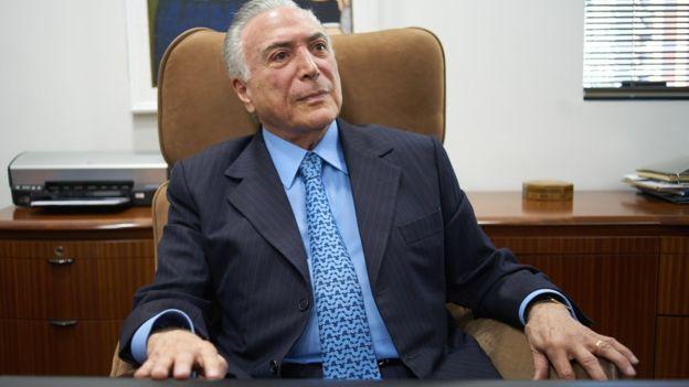 'O governo Bolsonaro vai bem porque está dando sequência ao meu', diz Temer